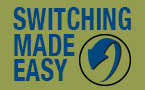 Image: Arrow, Image text reads 'Switching Made Easy""